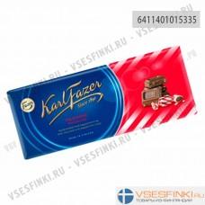 Шоколад Fazer с крошкой перечной мяты 200гр