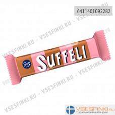 Шоколадный батончик Fazer Suffeli с глазурью и вафлями 21гр