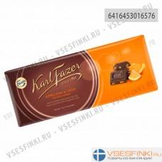 Шоколад Fazer (апельсин) 200 гр