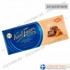 Шоколад Fazer с кусочками соленой ириски 200гр