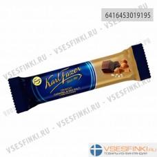 Шоколадный батончик Fazer (карамель и морская соль) 39гр