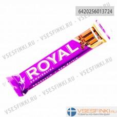Шоколадный батончик Royal с ромом и изюмом 42гр