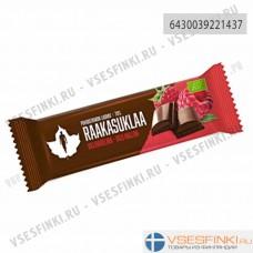 Шоколад Puhdistamo 36 гр (Малина)