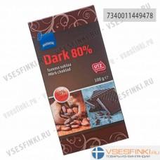 Шоколад Rainbow Dark 80% 100 гр