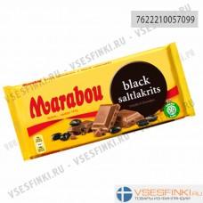 Шоколад Marabou с кусочками лакрицы 180гр