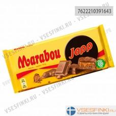 Шоколад Marabou молочный с нугой 185гр