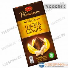 Шоколад Marabou Premium (имбирь,лимон) 150 гр