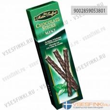 Шоколадные палочки Maitre Truffout с мятой 75гр