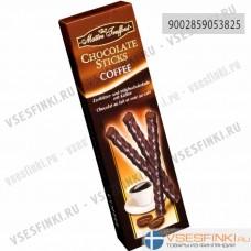 Шоколадные палочки Maitre Truffout кофе 75гр