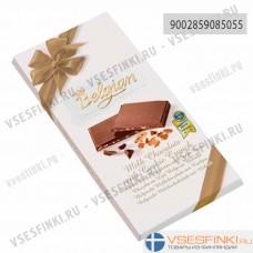 Шоколад Belgian молочный с чипсами 100г