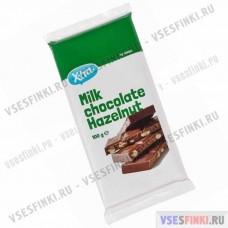 Шоколад X-TRA молочный с орехом 100гр