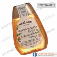 Мёд цветочный апельсиновый Jakobsens 250гр