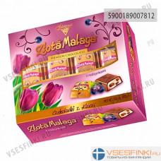 Шоколадные конфеты Solidarnosc с изюмом 395гр