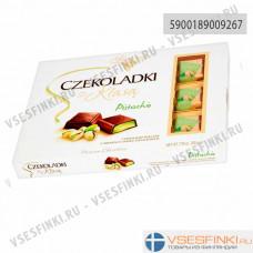 Шоколадные конфеты Solidarnosc с фисташковымвкусом 200гр