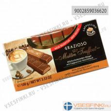 Шоколад Maitre Truffout молочный с кофе 100гр