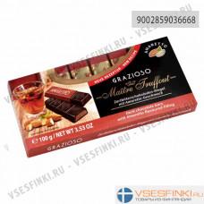 Шоколад Maitre Truffout тёмный с амаретто 100гр