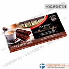 Шоколад Maitre Truffout тёмный Эспрессо 100гр