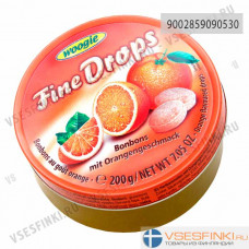 Леденцы Woogie апельсин 200 гр
