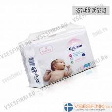Детские влажные салфетки Natusan Baby 224шт