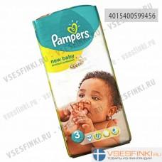 Подгузники Pampers New Baby №3 (6-10кг) 50шт