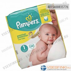 Подгузники Pampers Premium Protection New Baby №1 (2-5кг) 22шт