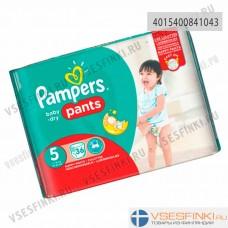 Подгузники-трусики Pampers Pants №5 (12-17кг)  36шт