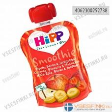 HiPP (яблоко,банан,клубника) с 6 мес 90гр