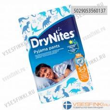 Подгузники-трусики DryNites для мальчиков 3-5 лет(16-23кг) 16шт