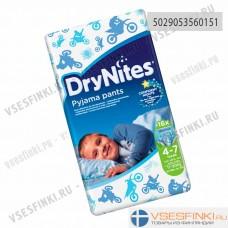 Подгузники-трусики DryNites для мальчиков 4-7 лет (17-30кг) 16шт