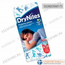 Подгузники-трусы DryNites для юношей 8-15 лет (27-57кг) 13шт