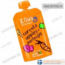 Ella's Kitchen (морковь,яблоко,гранат) с 4мес 120гр