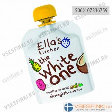 Ella's Kitchen (кокос,ананас,банан,яблоко) с 6мес  90гр