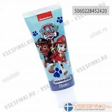 Детская зубная паста Nickelodeon Paw Patrol Toothpaste 75мл