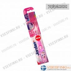 Зубная щётка Jordan 3-5 лет (фиолетовая)