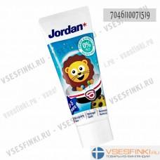 Детская зубная паста Jordan (клубника) 50мл
