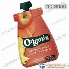 Organix (яблоко,сладкий картофель,ананас) с 6 мес 100гр