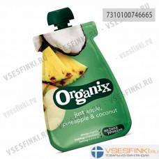 Organix (яблоко,ананас,кокос) с 6 мес 100гр