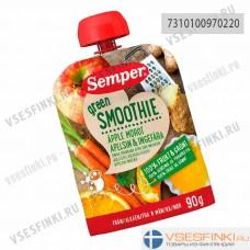 Semper (яблоко,морковь,апельсин,имбирь) с 6 мес 90гр
