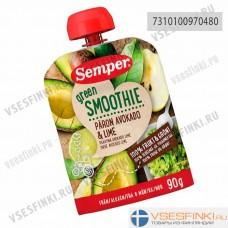 Semper (груша,авокадо,лайм) с 6 мес 90гр