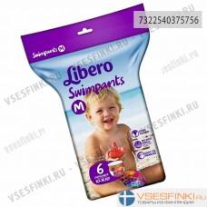Трусики для плавания Libero М (10-16кг) 6шт