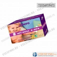 Детские влажные салфетки Libero 6x64 шт