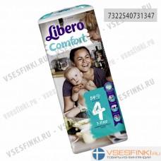 Подгузники Libero Comfort №4 (7-11кг) 54шт