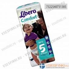 Подгузники Libero Comfort №5 (10-14кг) 50шт