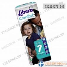 Подгузники Libero Comfort №7 (16-26кг) 42шт
