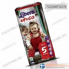 Подгузники-трусики Libero Up&Go №5 (10-14кг) 42шт