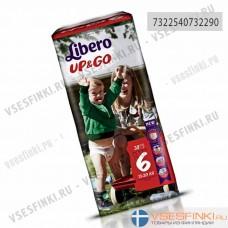 Подгузники-трусики Libero Up&Go №6 (13-20кг) 38шт