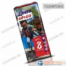Подгузники-трусики Libero Up&Go № (19-30кг) 30шт