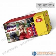 Подгузники-трусики Libero Up&Go №5 (10-14кг) 84шт