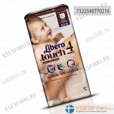 Подгузники-трусики Libero Touch №4 (7-11кг) 38шт