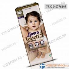 Подгузники Libero Touch №4 (7-11кг) 48шт